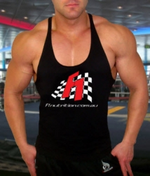 F1 Nutrition Singlet - Black Only - $5 Off!