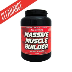 F1 Nutrition Massive Muscle Builder Weight Gainer - Click for more info